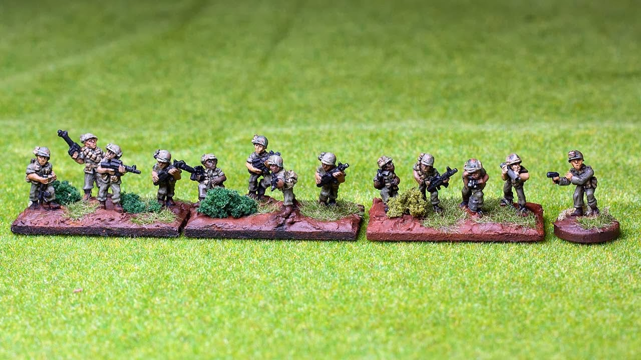 us army rifle platoon - flashpoint-miniatures